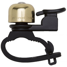 Planet Bike Courtesy Flexi Bike Bell - Brass