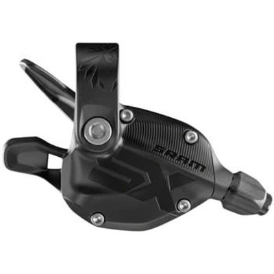 SRAM SX Eagle Rear Trigger Shifter - 12-Speed, with Discrete Clamp, Black, A1