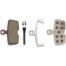 SRAM Disc Brake Pads - Organic Compound, Aluminum Backed, Quiet/Light, For Code 2011+ and Guide RE