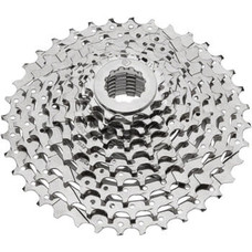 Dimension Cassette - 10 Speed, 11-36t, Silver, Nickel Plated