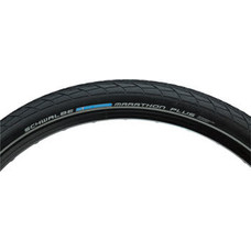 Schwalbe Marathon Plus Tire - 26 x 2, Clincher, Wire, Black/Reflective ,Performance Line