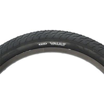 CST Vault Tire - 20 x 2.2, Clincher, Wire, Black - Online