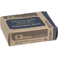 Q-Tubes Superlight 700c x 23-25mm 80mm Presta Valve Tube