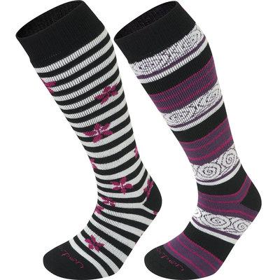 Lorpen Women's T2 Merino Ski Socks 2-Pack