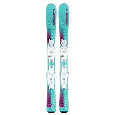 Elan Kids Starr QS 4.5 Skis w/EL 4.5 GW Shift Bindings 2021