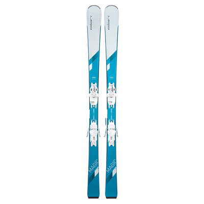 Elan Women's White Magic Skis w/ELW 9 Shift GW Bindings 2021