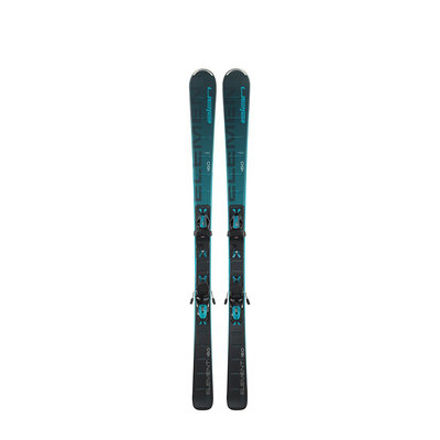 Elan Women's Element Black/Blue LS Skis w/ELW 9 GW Shift Bindings