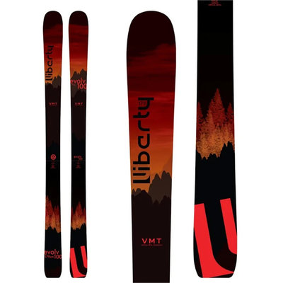 Liberty Evolv 100 Skis (Ski Only) 2021