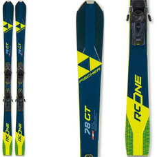 Fischer RC One 78 GT Skis w/RSW 10 GW Powerrail Bindings 2021