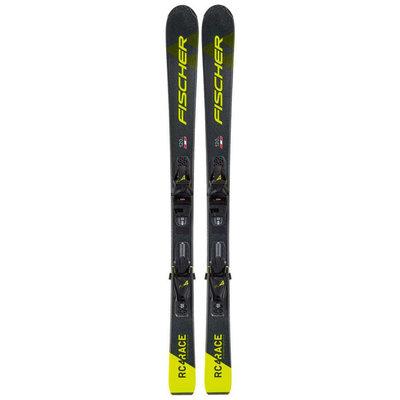 Fischer Jr RC4 Race Ski w/FJ4 GW AC SLR Bindings 2021
