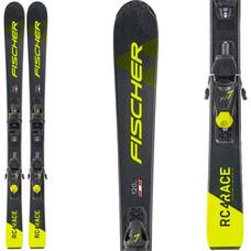 Fischer Jr RC4 Ski w/FJ7 GW AC SLR Bindings 2021