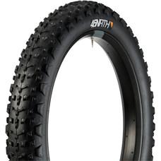 45NRTH Dillinger 4 Tire - 26 x 4, Tubeless, Folding, Black, 120tpi, 240 Concave Carbide Aluminum Studs