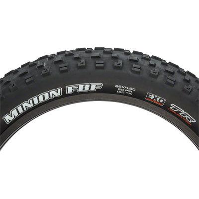 Maxxis Minion FBF Tire - 26 x 4.8, Tubeless, Folding, Black, Dual, EXO