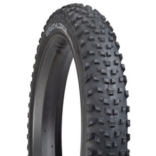 45NRTH Wrathlorde Tire - 26 x 4.2, Tubeless, Folding, Black, 120tpi, 300 XL Concave Carbide Aluminum Studs