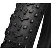 45NRTH Dillinger 4 Tire - 27.5 x 4, Tubeless, Folding, Black, 120tpi, 252 Concave Carbide Aluminum Studs