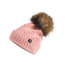 The North Face Kids' Oh-Mega Fur Pom Beanie 2021