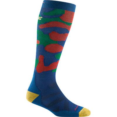 Darn Tough Kids' Camo Jr Over The Calf Midweight Cushion Socks