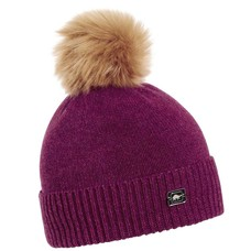 Turtle Fur Women's  Lambswool Sara-Jane Faux Fur Pom  Hat