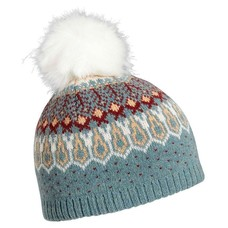Turtle Fur Women's Lambswool Reykjavik Faux Fur Pom Hat