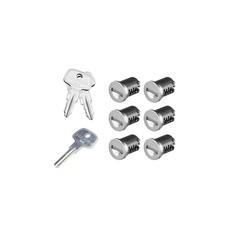 Yakima SKS Lock Cores 6 Pack with Keys