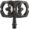 "iSSi Trail II Pedals - Dual Sided Clipless with Platform, Aluminum, 9/16"", Black"