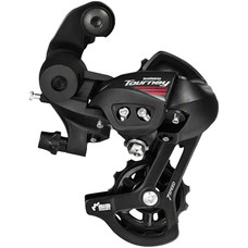 Shimano Tourney RD-A070 Rear Derailleur - 7 Speed, Short Cage, Black, Shimano Rear Direct Mount