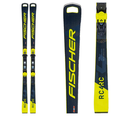 Fischer RC4 World Cup RC Pro M/O Skis w/RC4 Z13 Freeflex Bindings 2021
