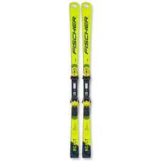 Fischer RC4 World Cup CT M/O Skis w/RC4 Z17 Freeflex Bindings 2021