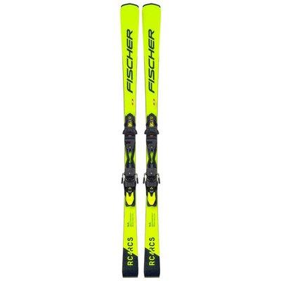 Fischer RC4 RCS Ar Skis w/RC4 Z12 Powerrail Bindings 2021