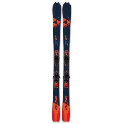 Fischer RC One 86 GT Multiflex Skis w/RSW 12 Powerrail Bindings 2021