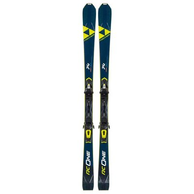 Fischer RC One 74 AR Skis w/RS 10 Powerrail Bindings 2021