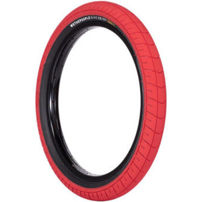 WTP Activate Tire - 20 x 2.4, Clincher, Wire, Black/Red, 100psi