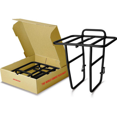 Specialized Pizza Front Rack 700c - One Size, Black