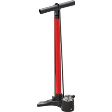 Lezyne Macro Floor Drive Pump: ABS1 Valve, Red