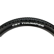 CST Thumper Tire - 26 x 2.1, Clincher, Wire, Black, 27tpi