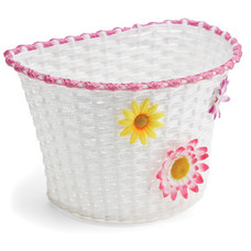 Giant Kids' White Flower Basket
