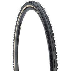 Kenda Kross Plus Tire - 700 x 38, Clincher, Wire, Black/Tan, 30tpi