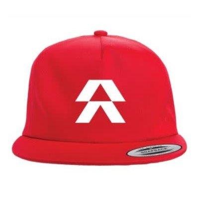 Reserve Wheels Snapback Hat Red