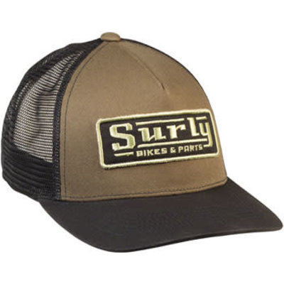 Surly Assistant Executive Director Trucker Hat - Green  Black One Size