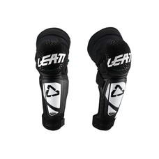 Leatt Knee & Shin Guard 3DF Hybrid EXT Jr Wht/Blk