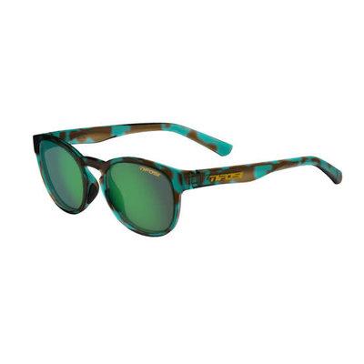 Tifosi Svago Sunglasses Blue Confetti Smoke Green