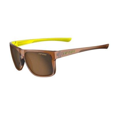 Tifosi Swick Sunglasses Caramel/Neon Polarized