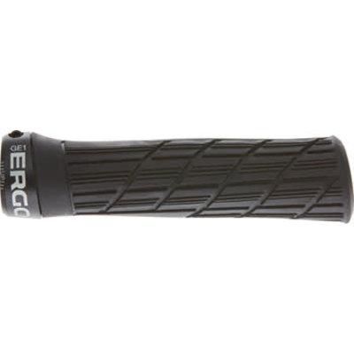 Ergon GE1 Evo Grips - Black, Lock-On