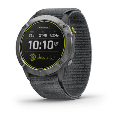 Garmin Enduro GPS Watch Silver Gray