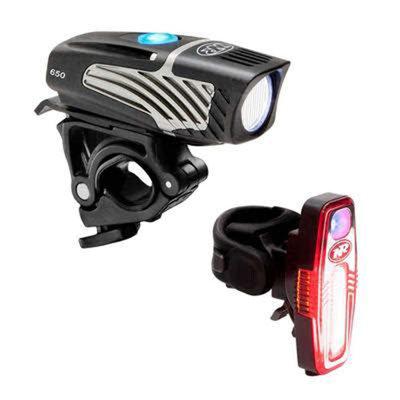 NiteRider Lumina Micro 900 Headlight and Sabre110 Tailight Combo Set