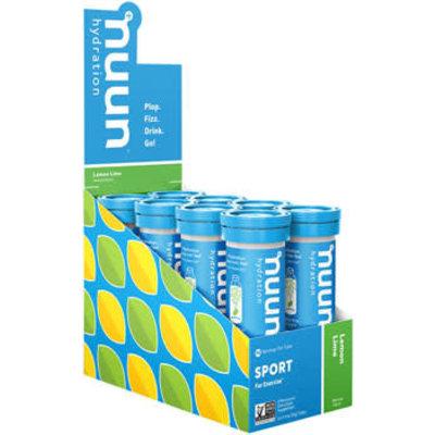 Nuun Sport Hydration Tablets: Lemon Lime