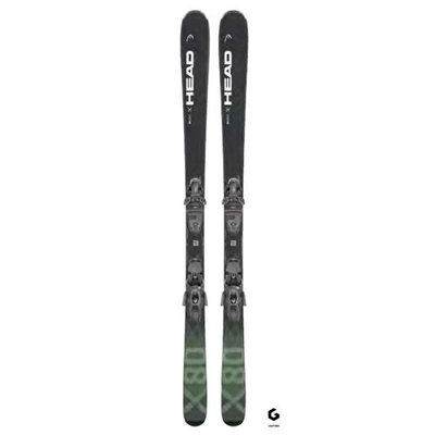 Head Kore 80X LYT-PR Skis w/PRW 11 GW Bindings 2022