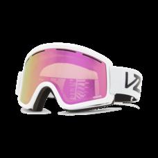 Von Zipper Cleaver Snow Goggles White Gloss/Wildlife Pink Chrome