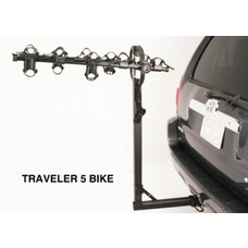 "Hollywood HR9200 Traveler 2"" Hitch -5  Bike Rack"