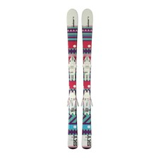 Elan Kids' Sky QS Ski w/EL 7.5 AC Shift B78 White Binding 2019